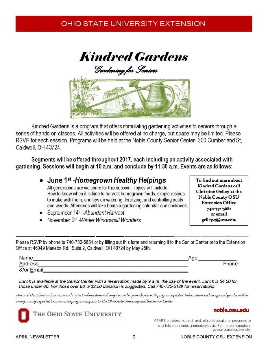 Kindred Gardens June